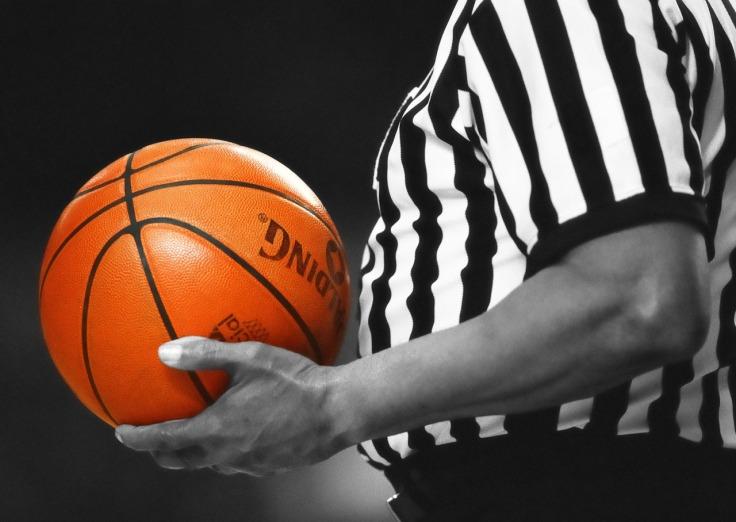 Referee Orange Sport Team Game Basketball Ball